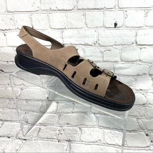 Clarks comfort sling back sandals sz 8.5